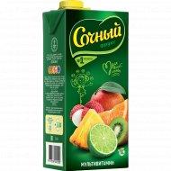 Нектар «Сочный фрукт» мультивитамин, обогащенный витаминами, 1.95 л