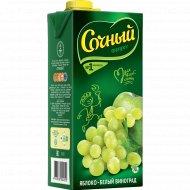 Нектар «Сочный фрукт» яблоко-белый виноград 1.95 л.