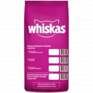 Корм сухой для взрослых кошек «Whiskas» говядина и кролик, 5 кг.