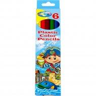 Набор цветных карандашей «Pirate» 6 цветов, 84267.