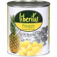 Кусочки ананаса «Liberitas» 850 г.