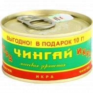 Икра лососевая «Чингай» зернистая, 140 г.