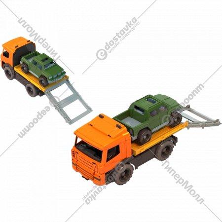 Спецтехника: Эвакуатор с машиной.