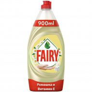 Средство для мытья посуды «Fairy» ромашка и витамин E, 900 мл