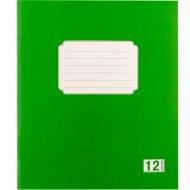 Тетрадь для записей «HanzKoger» узкая линейка, 12 листов.