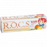 Зубная паста «R.O.C.S. Kids» Цитрусовая радуга, 45 г.