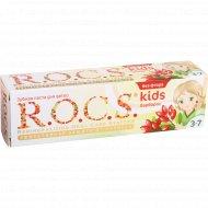Зубная паста «R.O.C.S. kids» барбарис 45 г.