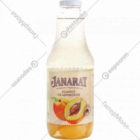 Компот «Janarat» из абрикосов, 1000 мл.