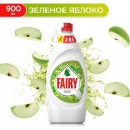 Средство для мытья посуды «Fairy» базовый зеленое яблоко, 900 мл.