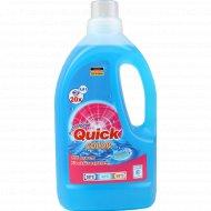 Жидкое моющее средство «Quick» для стирки цветного белья, 1.5 л.