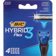 Кассеты «Bic» Flex3 Hybrid, 4 шт.
