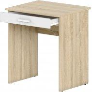 Письменный стол «Славянская Столица» Д-СП2, дуб сонома/белый