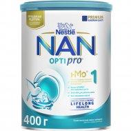 Смесь сухая молочная «NAN 1 Optipro» с рождения, 400 г.