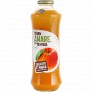 Сок персиковый сок «Sunny Amare» 750 мл.