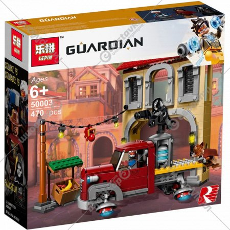 Конструктор «Lepin» Guardian Dorado Showdown, 50003