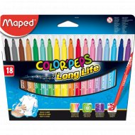 Фломастеры «Color Peps» 18 цветов.