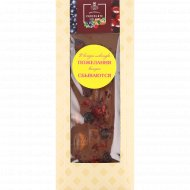 Шоколад молочный «Hand-Made» вишня, черная смородина и миндаль, 100 г.
