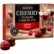 Конфеты шоколадные «Roshen» вишня с вишневым ликером, 155 г.