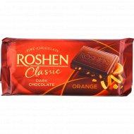 Шоколад черный «Roshen Classic» с апельсиновой цедроц, 90 г.
