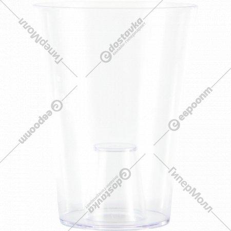 Ваза для орхидей «Optimplast» круглая, 1.2 л.