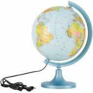 Глобус физико-политический с подсветкой, 250 мм.