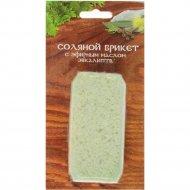 6Соляной брикет «Соляная баня» с эфирным маслом эвкалипт, 200 г.