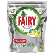 Средство для посудомоечной машины «Fairy» platinum all in one, 37 шт.