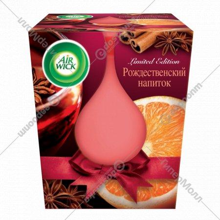 Свеча ароматизированная «Airwick» рождественский напиток, 105 г.