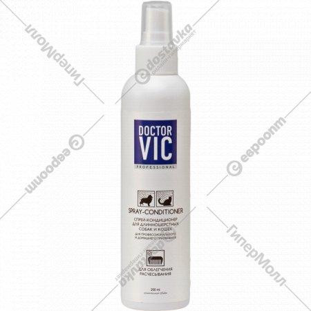 Спрей-кондиционер «Doctor Vic» для длинношерстных собак и кошек,200мл.