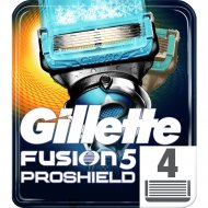 Кассеты для бритья «Gillette» Fusion Proshield Chill, 4 шт.