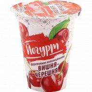 Йогурт «Бабушкина крынка» вишня-черешня, 2%, 310 г.