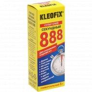 Супер клей «Kleofix 888» секундный, универсальный, 5г.