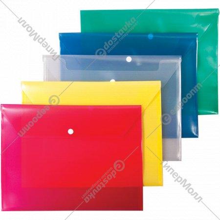 Папка-конверт на кнопке А5.