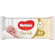Влажные салфетки «Huggies» Elite Soft 64 шт.