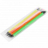 Набор карандашей «Flexy Neon» с ластиком, HB, 4 шт.