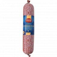 Колбаса варено-копченая «Славянская» высший сорт, 1 кг., фасовка 0.35-0.4 кг