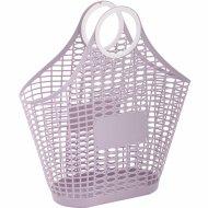 Корзина-сумка «Хризантема» фиолетовая.