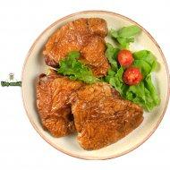 Бедро цыпленка копчено-запеченое, охлажденное, 1 кг., фасовка 0.4-0.7 кг