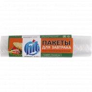 Пакеты «Ніt» для завтраков, 17х24 см, 100 шт