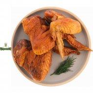 Крыло цыпленка копчено-запеченое, охлажденное, 1 кг., фасовка 0.2-0.4 кг