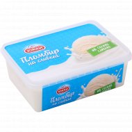 Мороженое «Юкки пломбир» на сливках и с ароматом ванили, 15%, 400 г.