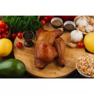 Окорочок цыпленка копчено-запеченое, охлажденное, 1 кг., фасовка 0.4-0.7 кг