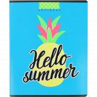 Тетрадь «Привет,лето!» клетка, 48 истов А5.