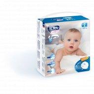 Подгузники детские одноразовые «Aura baby» размер 2S, 3-6 кг, 70 шт.