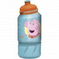 Бутылка для питья «Свинка Пеппа» детская, 12601505, 420 мл.