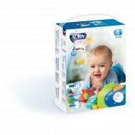 Подгузники детские одноразовые «Aura baby» размер 3M, 4-9 кг, 60 шт.
