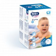 Подгузники детские одноразовые «Aura» размер 4L, 7-14 кг, 12 шт.