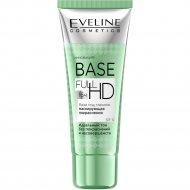Маскирующая покраснения база под макияж «Eveline» Base Full HD, 30 мл.