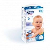 Подгузники детские одноразовые «Aura» размер 4L, 7-14 кг, 44 шт.