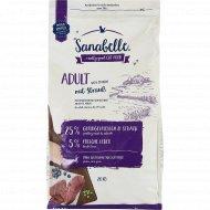 Корм для кошек «Sanabelle» Adult Straub, страус, 2 кг.